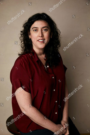 """Stock Photo of Alison Klayman poses for a portrait to promote the film """"The Brink"""" at the Salesforce Music Lodge during the Sundance Film Festival, in Park City, Utah"""