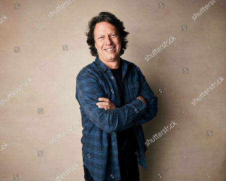 """Gavin Hood poses for a portrait to promote the film """"Official Secrets"""" at the Salesforce Music Lodge during the Sundance Film Festival, in Park City, Utah"""