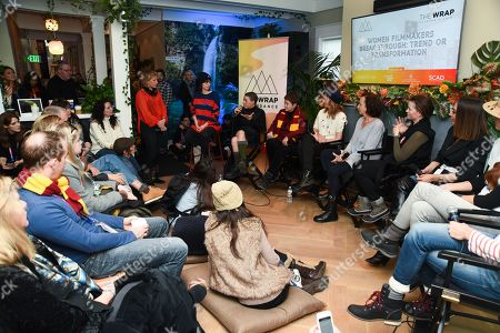 Editorial image of WanderLuxxe Filmmaker Lounge with Essential Costa Rica and TheWrap, Day 4, Sundance Film Festival, Park City, USA - 28 Jan 2019