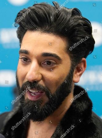 Ray Panthaki speaks to the press as he arrives for the premiere of the film 'Official Secrets' at the 2019 Sundance Film Festival in Park City, Utah, USA, 28 January 2019. The festival runs from 24 January to 02 February 2019.