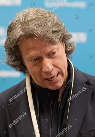 Gavin Hood speaks to the press as he arrives for the premiere of the film 'Official Secrets' at the 2019 Sundance Film Festival in Park City, Utah, USA, 28 January 2019. The festival runs from 24 January to 02 February 2019.