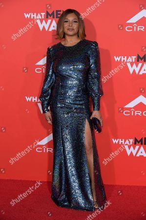 "Tamala Jones attends the LA Premiere of ""What Men Want"" at the Regency Village Theatre, in Los Angeles"