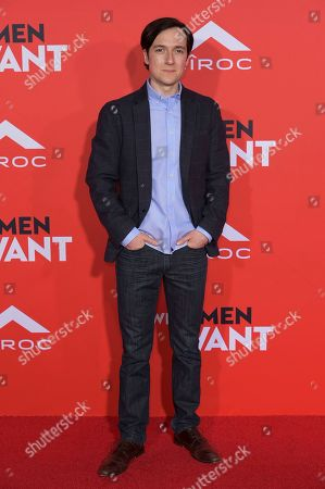 "Stock Image of Josh Brener attends the LA Premiere of ""What Men Want"" at the Regency Village Theatre, in Los Angeles"