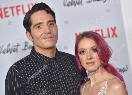 David Dastmalchian and Evelyn Leigh