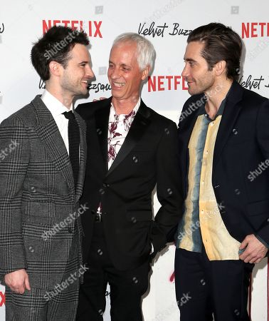 Tom Sturridge, Dan Gilroy, Jake Gyllenhaal