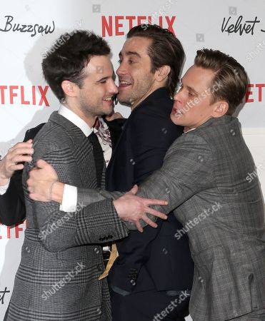Tom Sturridge, Dan Gilroy, Jake Gyllenhaal, Billy Magnussen