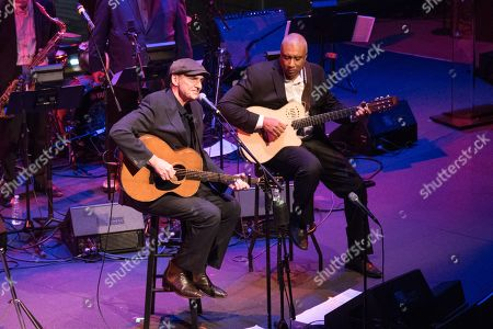 James Taylor and Bernie Williams