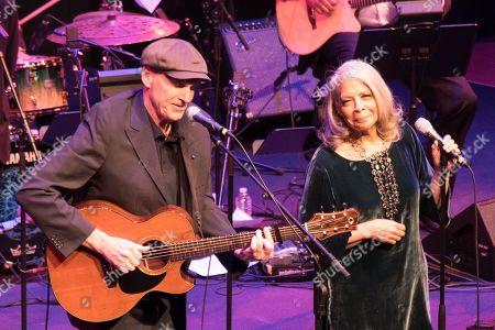 James Taylor and Patti Austin
