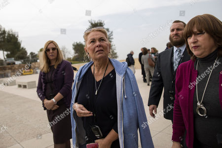 US actress Roseanne Barr visits the Yad Vashem Holocaust memorial in Jerusalem. Comedian and divisive former television star Roseanne says her sitcom was canceled last year because of backlash against her support for Israel