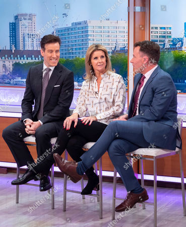 Anton Du Beke and Erin Boag with Richard Arnold