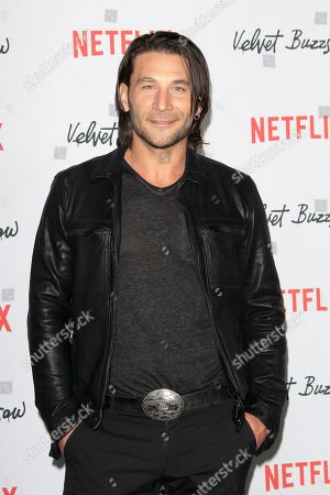 Zach McGowan arrives for the Netflix premiere of 'Velvet Buzzsaw' at the Egyptian Theatre in Hollywood, Los Angeles, California, USA, 28 January 2019.