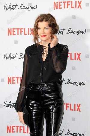 Rene Russo arrives for the Netflix premiere of 'Velvet Buzzsaw' at the Egyptian Theatre in Hollywood, Los Angeles, California, USA, 28 January 2019.