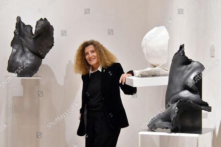 Nicole Farhi with Demeter, £15,500, Venus on Seashell, £9,600, Aphrodite, £14,500