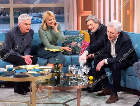 Phillip Schofield, Holly Willoughby, Nigel Havers, Denis Lawson