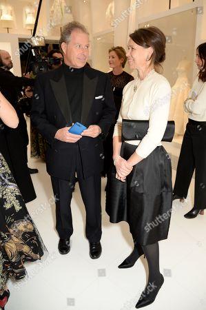 David Armstrong-Jones, 2nd Earl of Snowdon and Serena Armstrong-Jones, Countess of Snowdon.