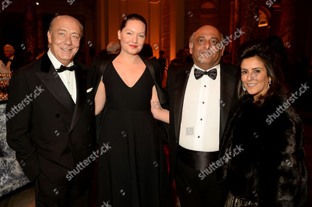 Stock Picture of Fawaz Gruosi and guests