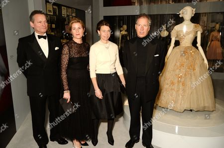 Daniel Chatto, Lady Sarah Chatto, Serena Armstrong-Jones, Countess of Snowdon and David Armstrong Jones, 2nd Earl of Snowden.