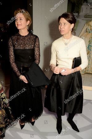 Lady Sarah Chatto and Serena Armstrong-Jones, Countess of Snowdon