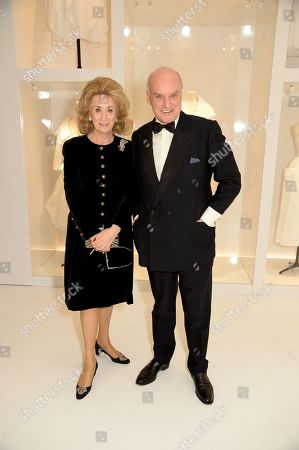Editorial photo of Christian Dior: Designer of Dreams exhibition dinner, V&A Museum, London, UK - 29 Jan 2019