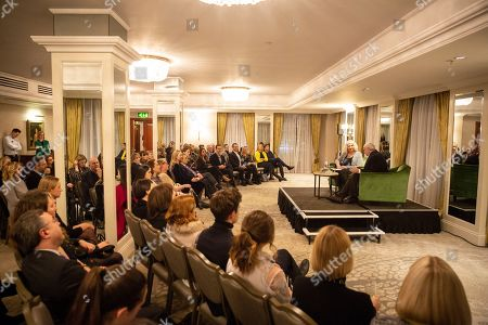 Editorial picture of Academy Circle with Jonathan Pryce & 'A Taste of BAFTA', Grosvenor House, London, UK - 28 Jan 2019