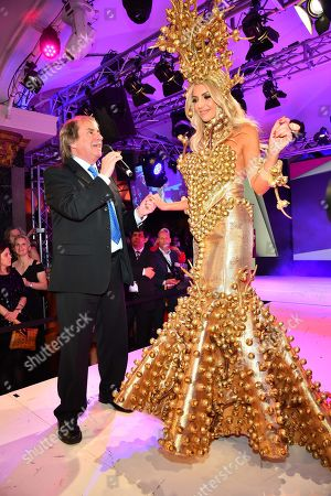 Stock Image of Chris de Burgh and daughter Rosanna Davison