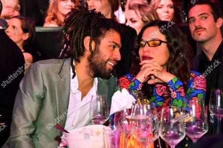 Noah Becker with girlfriend Taina Moreno de Oliviera Lagoeiro
