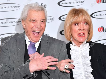 Lionel Blair and Amanda Barrie