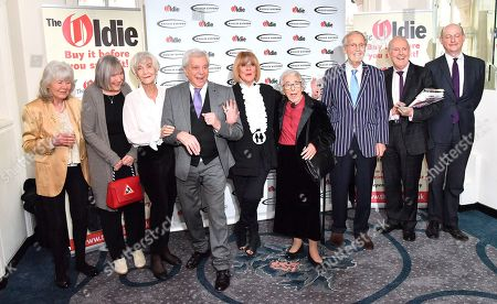 Jilly Cooper, Peter Bowles, Sheila Hancock, Lionel Blair, Amanda Barrie, Judith Kerr, Nicholas Parsons and Gyles Brandreth