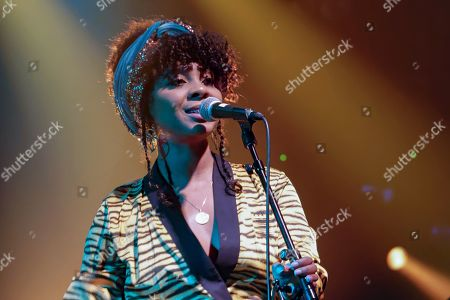 Editorial picture of Hollie Cook in concert, Paris, France - 27 Jan 2019