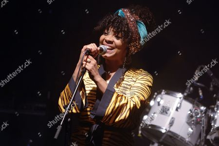 Stock Picture of Hollie Cook performs live at 'La Machine du Moulin Rouge'