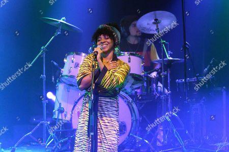 Hollie Cook performs live at 'La Machine du Moulin Rouge'