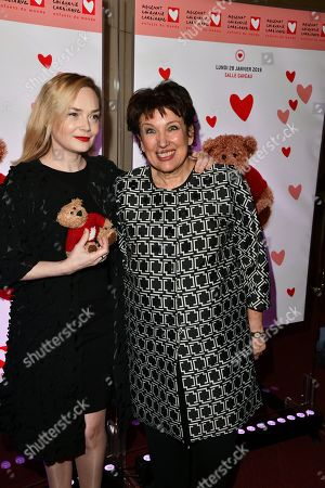 Julie Judd and Roselyne Bachelot -Narquin