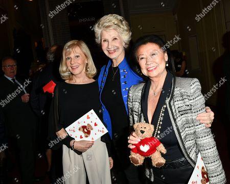 Elisa Servier, Daniele Gilbert and Jeanne d Hautesserre