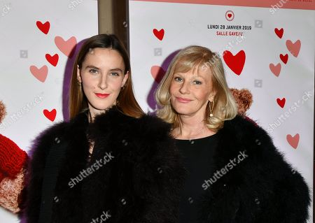 Elisa Servier and Manon Servier