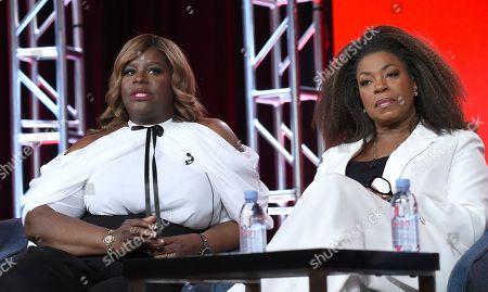 Retta, Lorraine Toussaint. Retta, left, and Lorraine Toussaint participate in the Women of Drama panel during the NBCUniversal TCA Winter Press Tour, in Pasadena, Calif