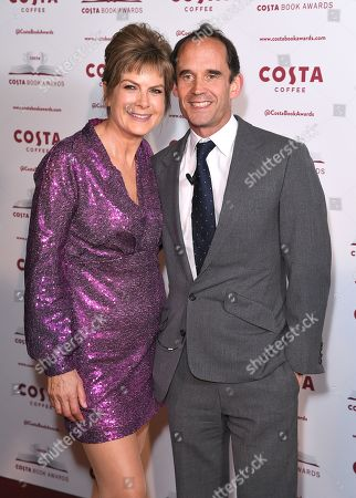 Penny Smith and Dominic Paul