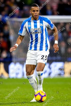 Mathias Zanka Jorgensen of Huddersfield Town
