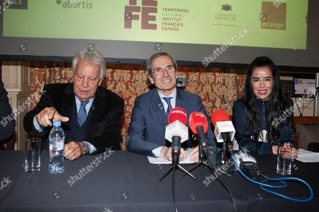 Editorial photo of French cultural season presentation, Madrid, Spain - 29 Jan 2019