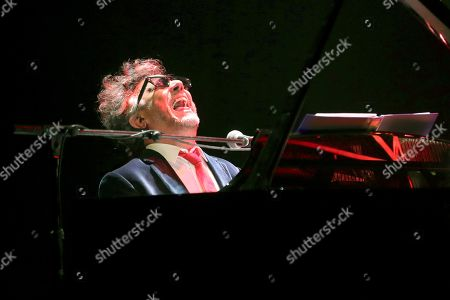 Argentinian composer and singer Fito Paez performs on stage during his concert in the framework of the Inverfest 2019 Festival in Madrid, Spain, 29 January 2019.