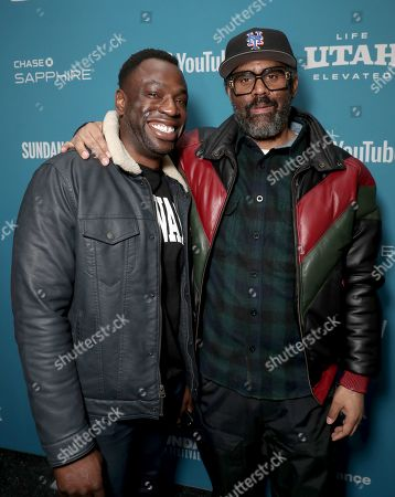 Cinematographer Hans Charles and Director Sacha Jenkins attend Showtime's 'Wu-Tang Clan: Of Mics and Men' premiere