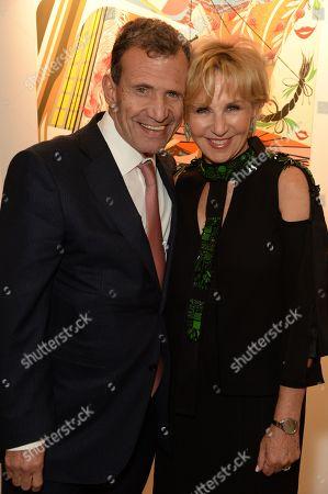 Poju Zabludowicz and Wendy Fisher