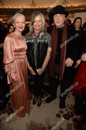 Stock Photo of Maria Balshaw, Anita Zabludowicz and Ron Arad