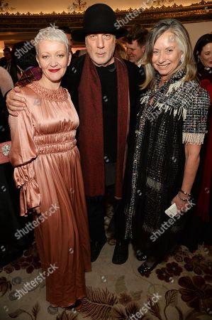 Maria Balshaw, Anita Zabludowicz and Ron Arad