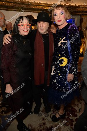 Philippa Perry, Ron Arad and Grayson Perry