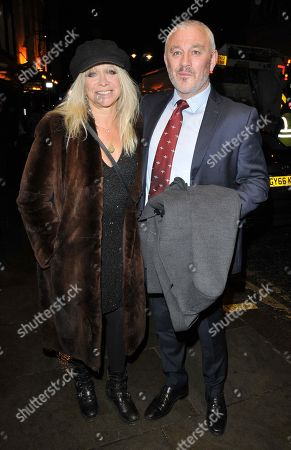 Jo Wood and Carl Douglas