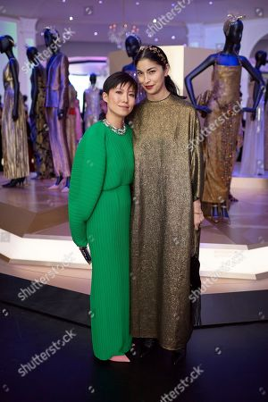 Sandra Choi and Caroline Issa