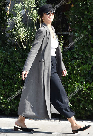 Editorial picture of Minka Kelly out and about, Los Angeles, USA - 29 Jan 2019