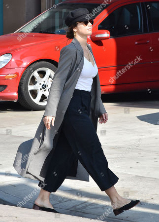 Editorial photo of Minka Kelly out and about, Los Angeles, USA - 29 Jan 2019