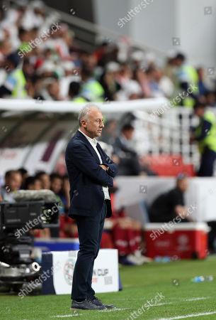 Editorial image of Qatar v United Arab Emirates, AFC Asian Cup UAE 2019, Abu Dhabi, United Arab Emirates - 29 Jan 2019
