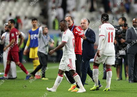 Editorial photo of Qatar v United Arab Emirates, AFC Asian Cup UAE 2019, Abu Dhabi, United Arab Emirates - 29 Jan 2019